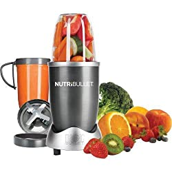 BLENDING MADE EASY WITH THE NUTRIBULLET BLENDER/MIXER 8-PIECE SET