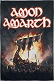 Amon Amarth 1000 Burning Arrows Unisex Flagge Mehrfarbig, 100% Polyester, Band-Merch, Bands