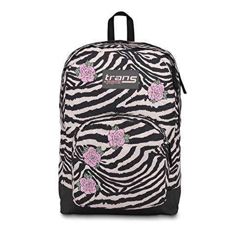 JanSport Overt Zebra Rose One Size