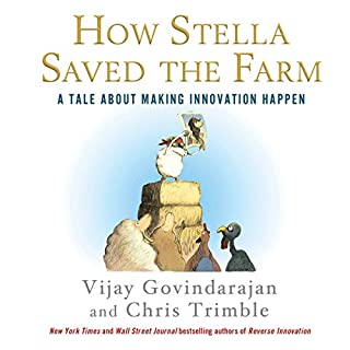 How Stella Saved the Farm audiobook cover art
