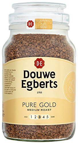 Douwe Egberts Coffee Pure Gold Medium Roast 400g Glass Jar