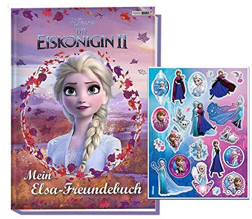 Eiskönigin Disney 2: Mein ELSA-Freundebuch Sticker, ab 3 Jahren