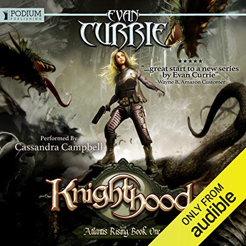 Knighthood audiobook cover art
