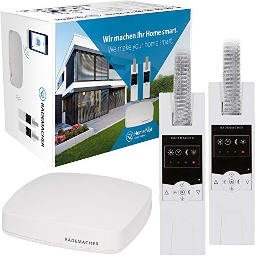 Rademacher Aktionspaket »Schlafenszeit« HomePilot® (3. Generation) inkl. 2X elektrischer Funk-Gurtwickler (RolloTron Standard DuoFern 1400)
