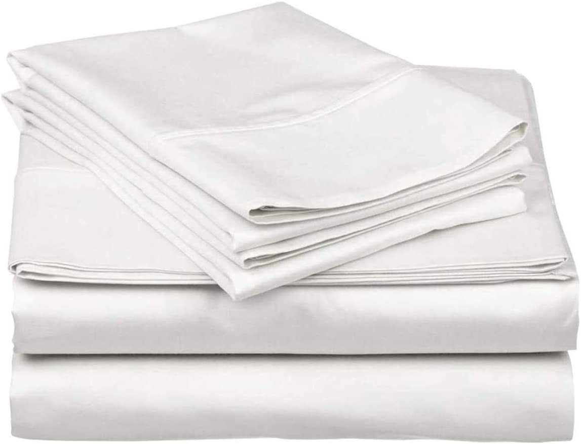 RV Camper 400 Thread Count 100% Long Max 56% Max 87% OFF OFF Cotton Staple Soft Sheets S