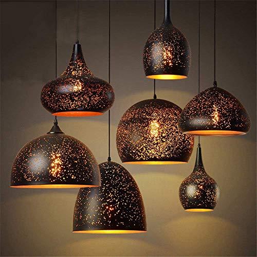 F-D hanglampen, modern, modern glas, bekleed hanglamp, LED E27 220 V, hanglamp voor keuken, lampen, woonkamer, hotelhal, restaurant, parlour