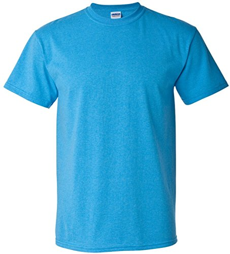 Gildan 5000camiseta de algodón pesado adultos azul gris XXL