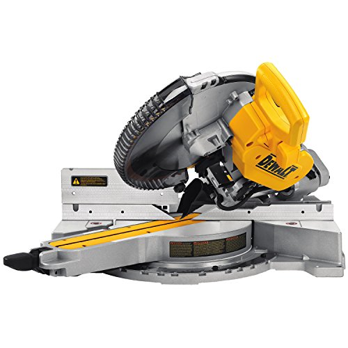 DeWalt Paneelsäge 1675W DWS780 inkl. Zubehör – Mit 305×30 mm HM-Sägeblatt ideal für den Innenausbau – Hohe Schnittkapazität & LED Schnittlinien Anzeige - 2