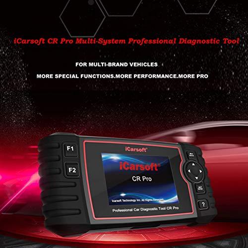 iCarsoft CR Pro Profi All-IN-ONE Diagnosegerät mehr als 40 Fahrzeugmarken OBD 2, Set of 5