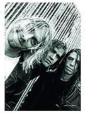 Poster Fahne Nirvana Band Shot