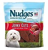 Nudges Steak Jerky Dog Treats, 16 oz