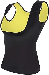 Magkontroll, midja cincher tränare trosor, kroppsskydd, kvinnors svett midjetränare bantning väst midjetränare kroppsforma...