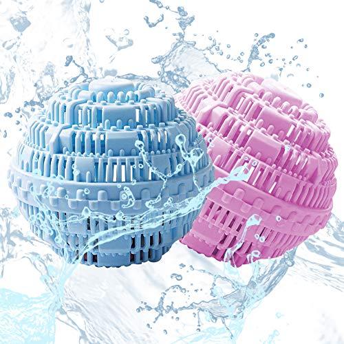 Boule de Lavage écologique réutilisable -WENTS Magic Boule de Lavage pour vêtements réutilisables nettoyez et -1000 Lessives Sans Détergent