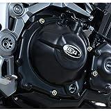 R&G RACING Couvre-Carter Droit (Embrayage) Noir Kawasaki Z900