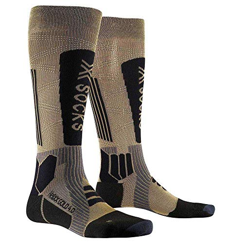X-Socks HeliXX 4.0 Socks, Gold/Black, 42/44