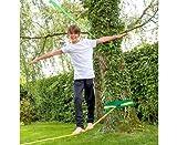 Betzold  Slackline-Set, 15 m lang, 5 cm breit mit Hilfsseil + Baumschutz - 8