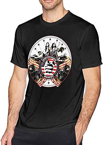 K TOO Grand Funk Railroad Mens T-Shirt Black,X-L
