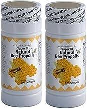 2 x Super III Natural Bee Propolis 200 softgels/ bottle Fresh Good Product