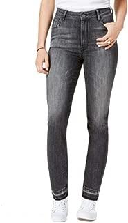 M1858 Audrey High-Rise Slim Straight-Leg Jeans