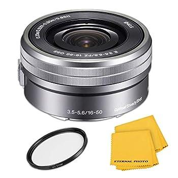 SonyE PZ 16-50mm f/3.5-5.6 OSS Lens - Silver  Renewed
