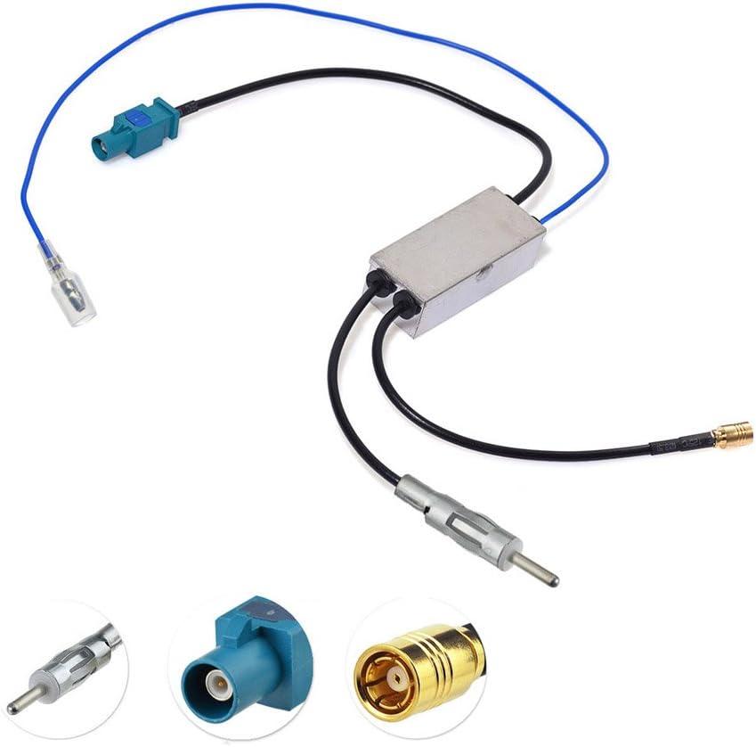 Bingfu Car Antenna Dab Splitter Fakra Z To Din And Smb Elektronik