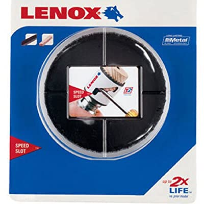 """LENOX Tools Bi-Metal Speed Slot Hole Saw with T3 Technology, 2-3/4"""""""