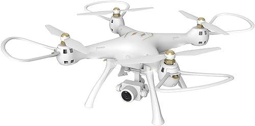 Qomomont W8 4G WiFi GPS FPV 720P Weißinkelkamera Smart Follow Quadcopter Drohne App Control One Key zum Starten oder Landen von Pocket Drone für Anf er Schwarz