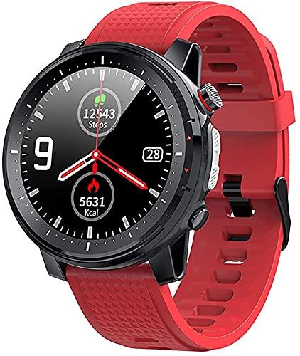 Reloj inteligente, Smart Watch, rastreador de fitness, monitor de presión arterial, medidor de oxígeno en la sangre, monitor de frecuencia cardíaca, reloj inteligente para teléfonos iPhone Android (B)