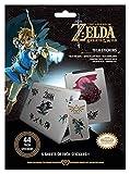 The Legend of Zelda: Breath Of The Wild- Aufkleber-Set, 44 Aufkleber, mehrfarbig