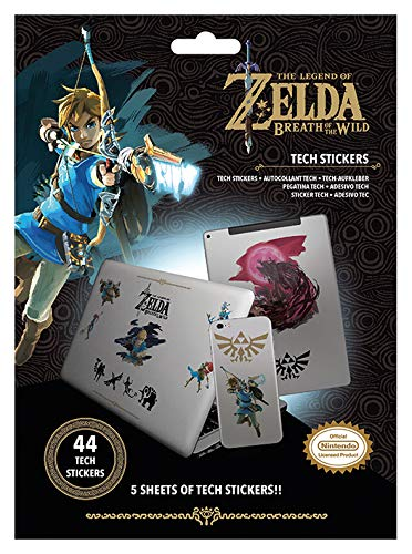 The Legend of Zelda: Breath of the Wild-set met 44 stickers, TS7406, meerkleurig