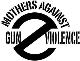 PressFans - Mothers Against Gun Violence Car Laptop Sticker Decal
