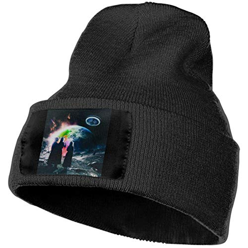 Gerneric Eternal Atake Lil+Uzi+Vert Cover Winter Hats Caps Knit Hat Cap Beanie Cap for Men/Womens Black
