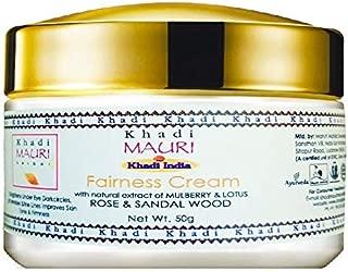 Khadi Mauri Herbal Fairness Cream - Skin Lightening - 50 g