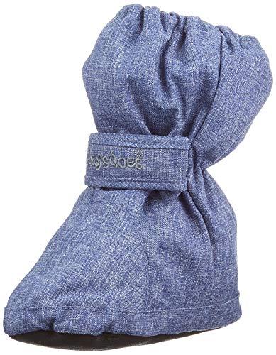 Playshoes Unisex Baby Thermo Bootie Schneestiefel, Jeansblau, 20/21 EU