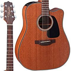 Dreadnought Cutaway Body with Mahogany Top, Back & Sides Mahogany Neck and Rosewood Fingerboard Takamine TP-4T Electronics Natural Finish Case Not Included