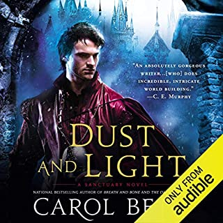 Dust and Light audiobook cover art