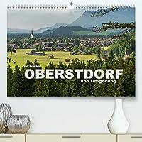 Oberstdorf und Umgebung (Premium, hochwertiger DIN A2 Wandkalender 2022, Kunstdruck in Hochglanz): Oberstdorf und die traumhafte Gebirgslandschaft des Oberallgaeu (Monatskalender, 14 Seiten )