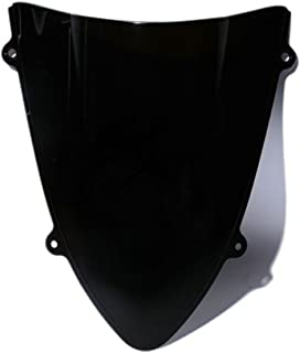 Dark Smoke Double Bubble Windshield Windscreen For Kawasaki Ninja 250R 08-12 09