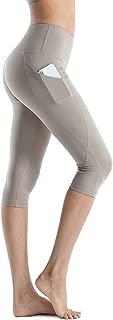 Women's Yoga Pants High Waist 4 Way Stretch Pockets Workout Running Fitness Leggings