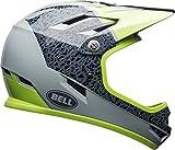 BELL Sanction Adult Mountain Bike Helmet - Gloss Smoke/Pear Reparation (2018), Medium (55-57 cm)