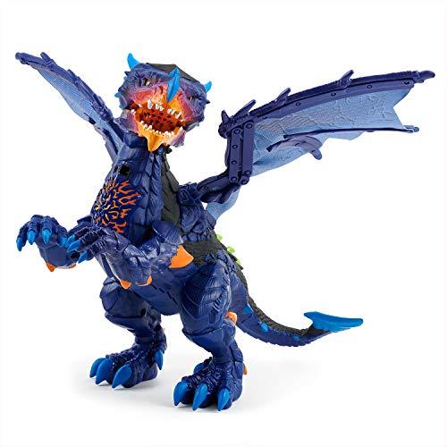 Wowwee- Dragón Mascota Interactiva, Color Azul (3956)