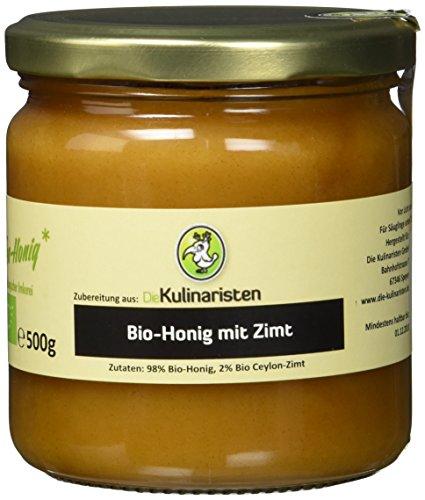 Die Kulinaristen Bio-Honig mit Zimt 500g, 1er Pack (1 x 1 kg)