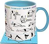 Unemployed Philosophers Guild 2 tazas de yoga.