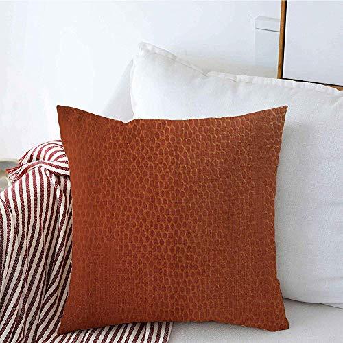 New-WWorld-Shop Kissenbezüge Home Decor Orange Schließen Basketball Shot Grain Bumps Farbe Pebble Sports Couch Kissen