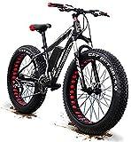 SFSGH Bicicleta eléctrica Bicicleta de montaña eléctrica Actualización 48V 1500w Bicicleta de montaña eléctrica 26 Pulgadas Neumático Grueso Bicicleta eléctrica (50-60 km/h) Cruiser Bici