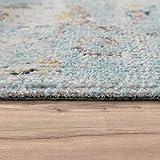 Paco Home In- & Outdoor Teppich Modern Orient Print Terrassen Teppich Türkis, Grösse:160x220 cm - 7