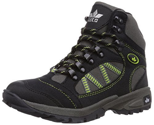 Lico Rancher High 220073 Herren Trekking- & Wanderschuhe, schwarz/grau/grün, EU 46
