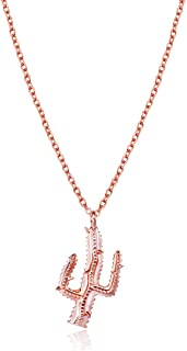 Stay Sharp Cactus Necklace