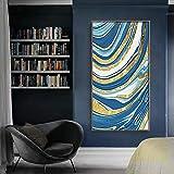 JHGJHK Arte Abstracto Moderno Pintura al óleo Arte Pintura sin Marco para...