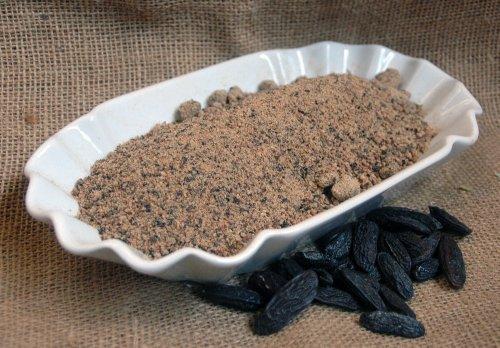 Naturix24 – Tonkabohnenpulver, Tonkabohnen gemahlen – 100 g-Beutel
